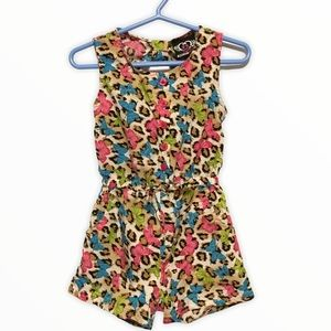 RealLove Butterfly print romper
